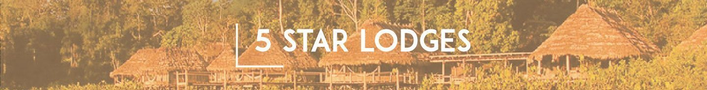 5 Star Amazon Lodges - Category