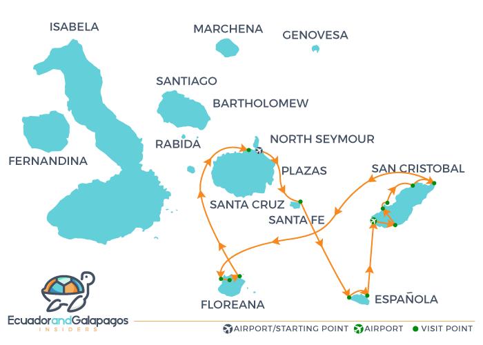 Itinerary B6 - Southern Island