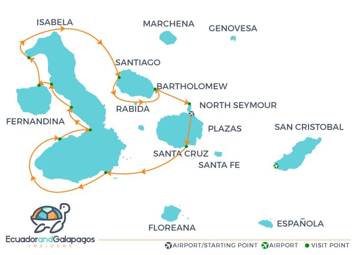 Itinerary Isabela - Western Islands