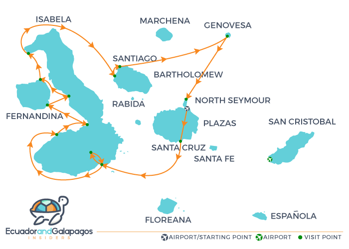Itinerary B - North & West Islands