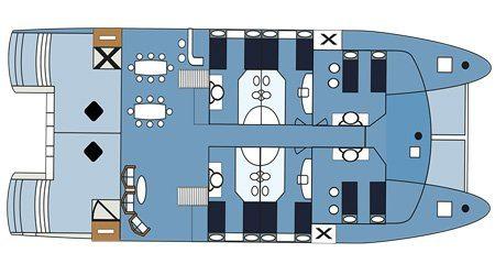 Seaman Journey Yacht - Main Deck Plan