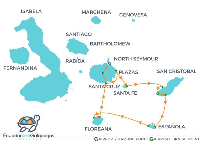 Itinerary B6 - Southern Islands