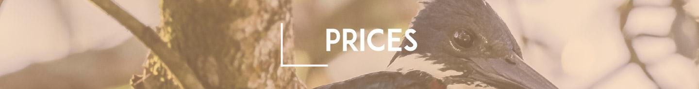 Napo Wild Life Center Lodge - Prices