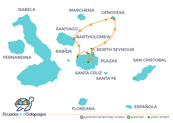 Itinerary A5 - Northern Islands