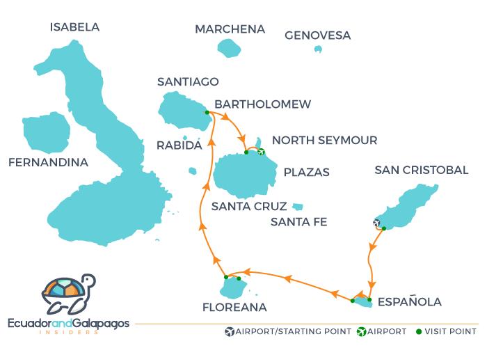 Itinerary B5 - Southern Islands