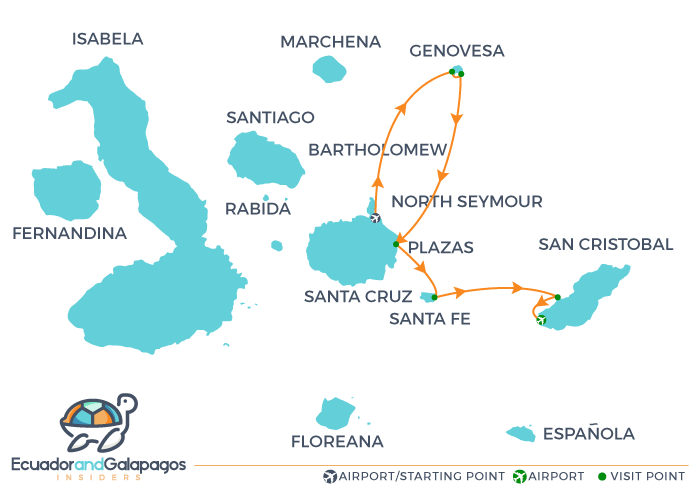 Itinerary B4 - North & East Islands