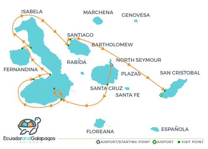 Itinerary C - Western Islands