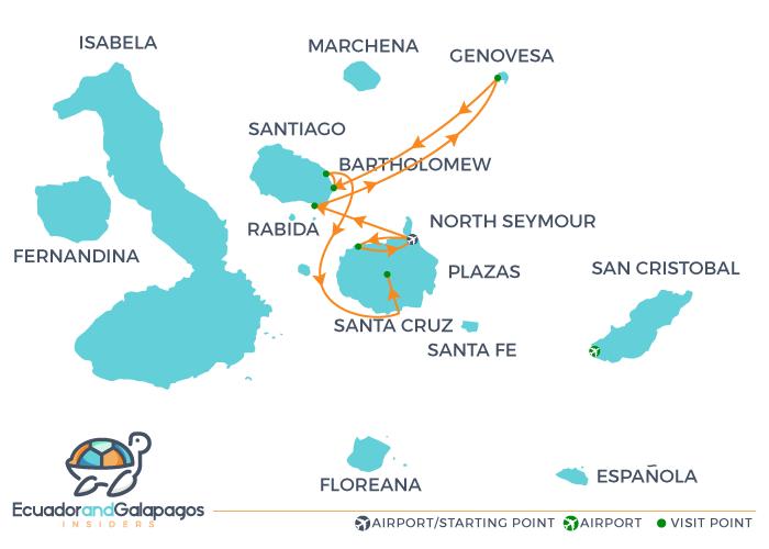 Itinerary B - Northern Islands