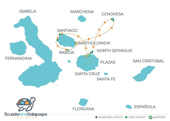 Itinerary Eastern Islands