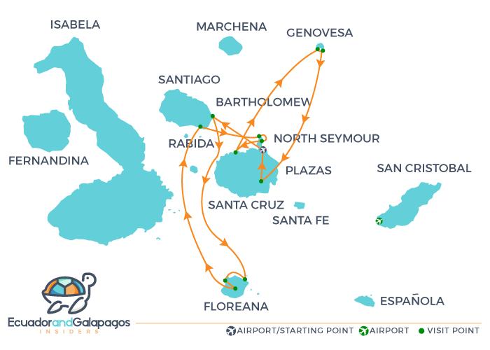 Itinerary E - North & South Islands