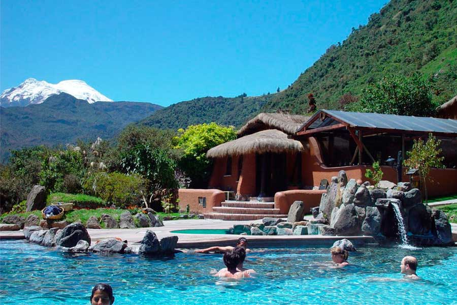 Papallacta hot springs day tours