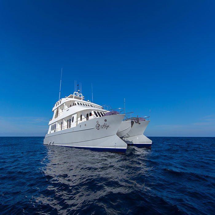 Alya Galapagos catamaran tours