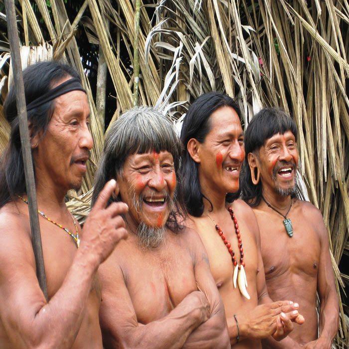 Huaorani tribes Ecuador