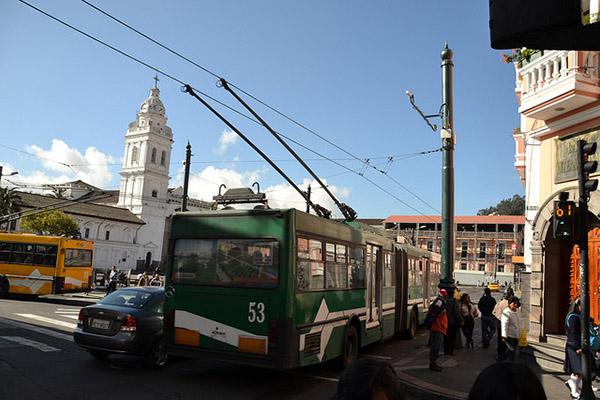 Quito public buses