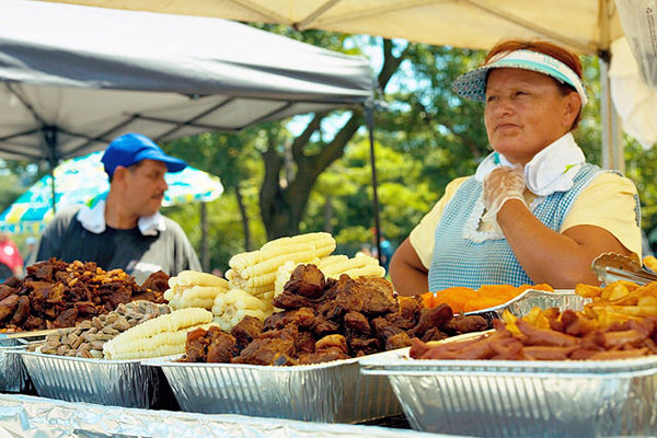 Best street food in Quito