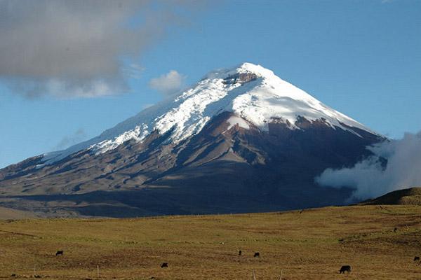 Cotopaxi mountain Ecuador