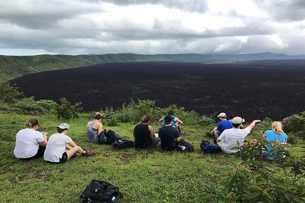 Sierra Negra Volcano Galapagos Tours