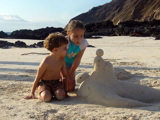 Galapagos family trips with children