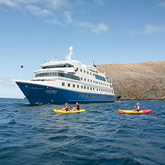 Cruise Ship Private rentals Galapagos