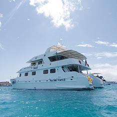 Cruise charter Galapagos Islands yach rental
