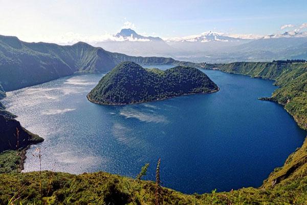 Ecuador main lakes