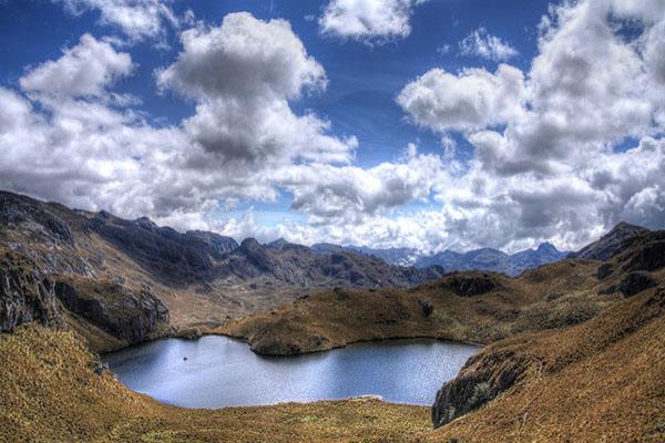 El Cajas Ecuador lakes