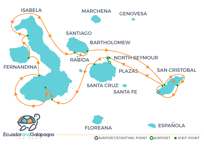 Elite Galapagos Cruise Bookings