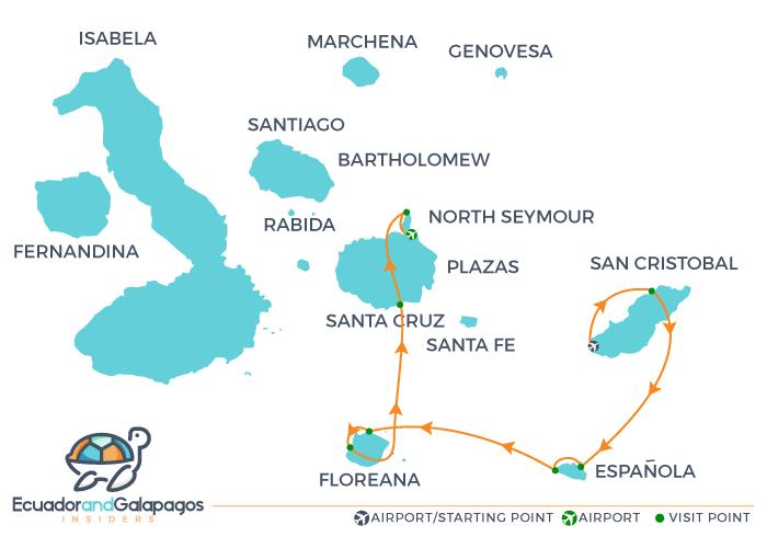 Galapagos Islands Elite Cruise Yacht