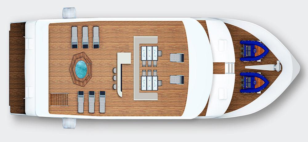 Grand Queen Beatriz Galapagos Yacht  Bookings