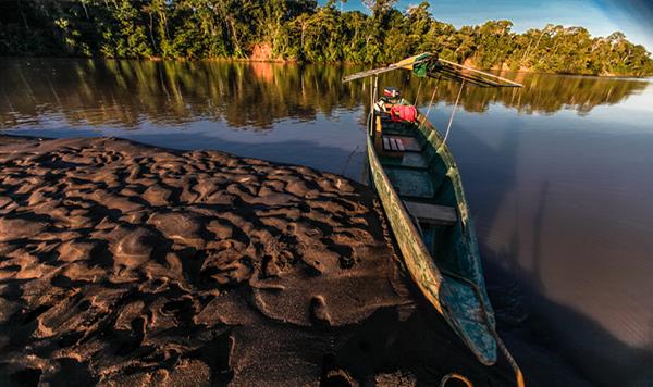 Kapawi Amazon basin Lodge