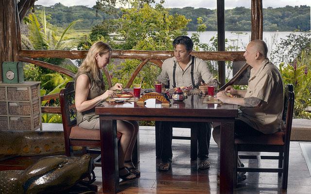 Amazon Rainforest Basin Lodges Food
