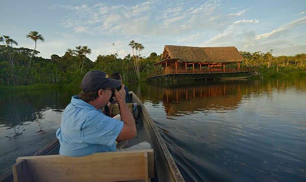 Rainforest lodges in Ecuador 2021