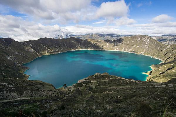 Temperatures Ecuador Highlands