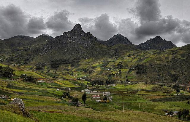 Ecuador Andes Region Weather Temperatures