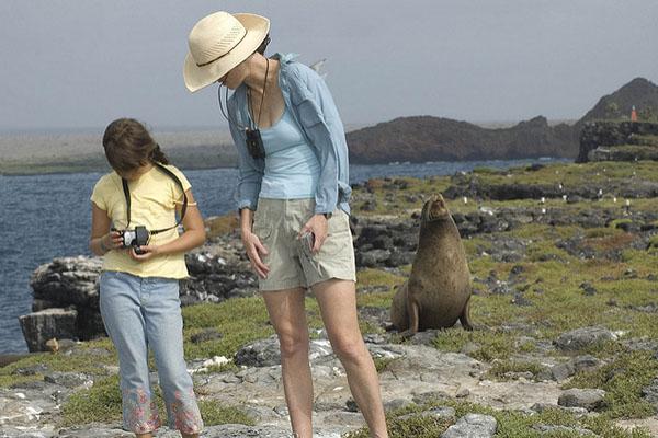 Galapagos Cruises - Santa Fe Island