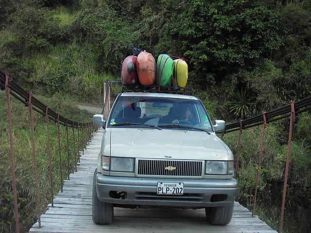 Driving in Ecuador