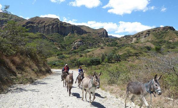 Transportation in Vilcabamba