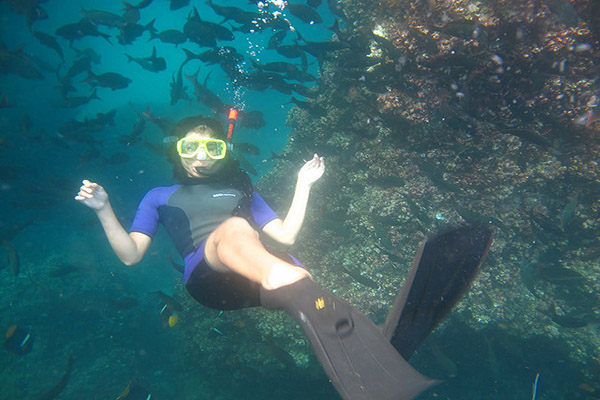 Best places to snorkel in Galapagos