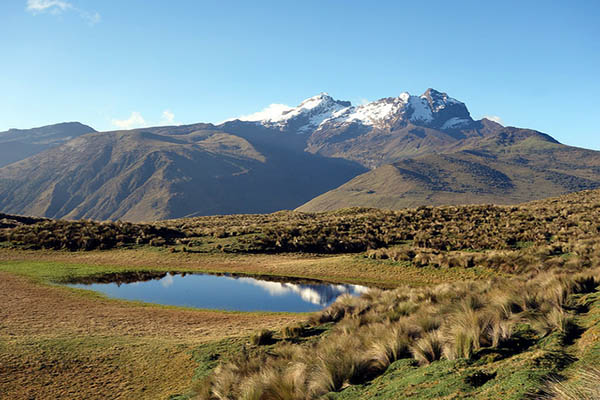 Weather in the Ecuador Highlands