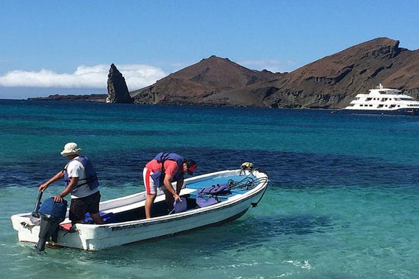 Seasickness tips Galapagos Islands