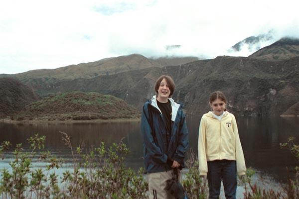 Andes Ecuador with kids