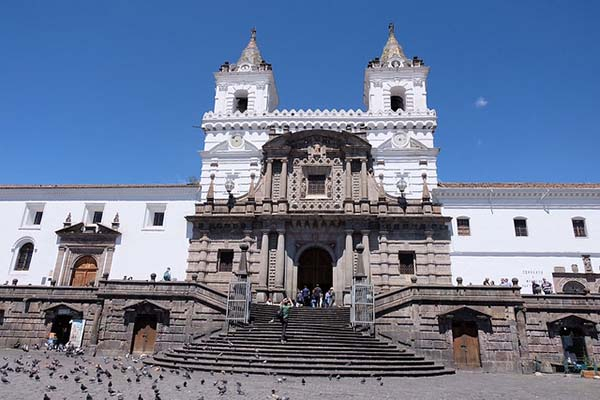 Old town Quito churches