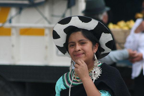 Salasaca indigenous community in Ecuador
