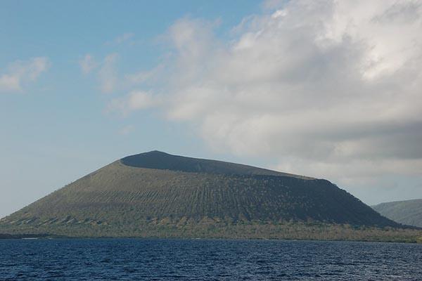 Isabela island galapagos volcanoes