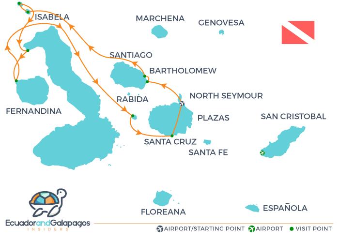 Aqua Galapagos Cruise Tours