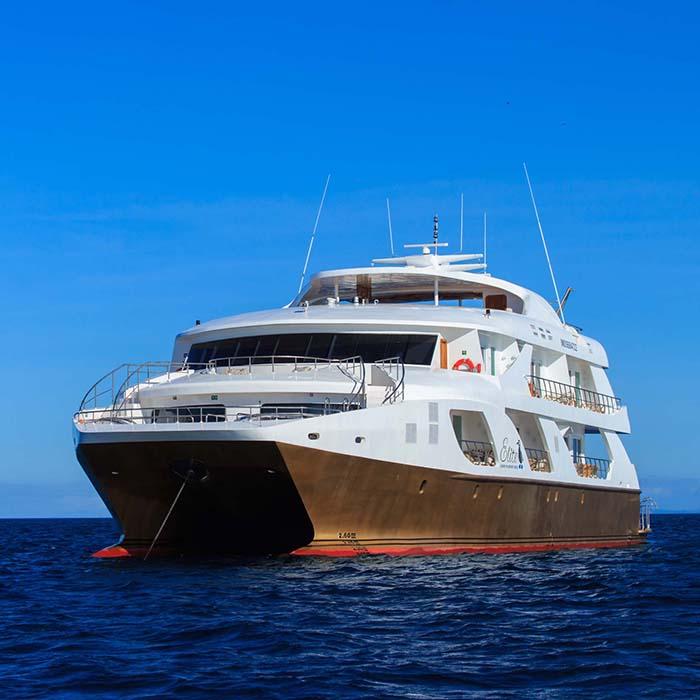 Luxury Galapagos catamaran