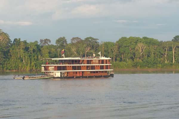 4 day luxury Amazon Cruise