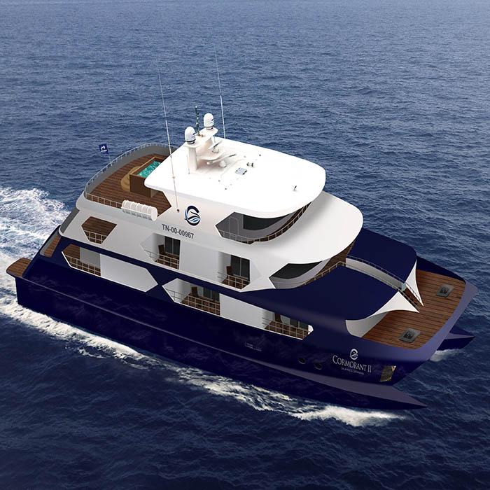 Galapagos luxury catamarans