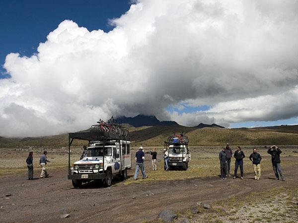 Active opportunities for travel in Ecuador
