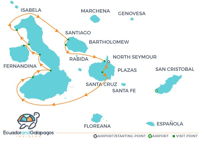 Itinerary B - Western Islands